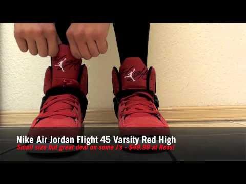 newest bde64 d9aa9 Mad Cheap Kicks Ep.13 -  49 for Air Jordan Flight 45 s at Ross!