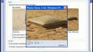 Create videos with free Photo Story software