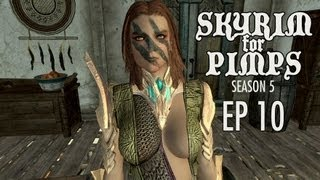 Skyrim For Pimps - Aela's New Outfits (S5E10) - Walkthrough