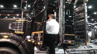 The Freightliner 122SD at the 2013 Mid America Trucking Show