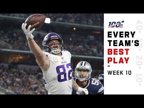 Every Team's Best Play of Week 10!