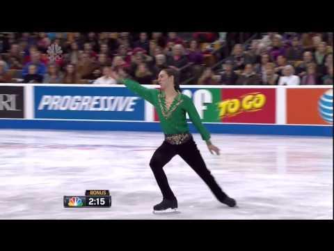 Jason Brown Free Skate 2014 US Figure Skating Championships THE BEST
