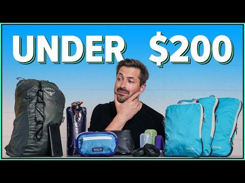 STARTER PACK! 9 Travel Essentials All for Around $200 (Budget Travel Gear)