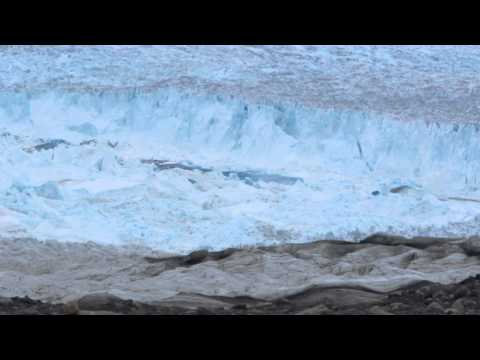 Jakobshavn  Glacier Calving Aug. 2012