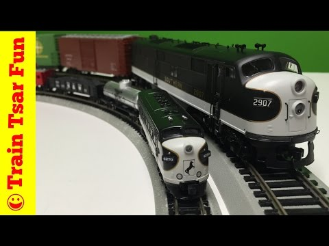 Norfolk Southern The Stallion N Scale Train Set by Bachmann