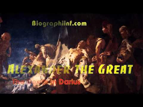 Biographiinf.com | Alexander the Great - The death in Darius