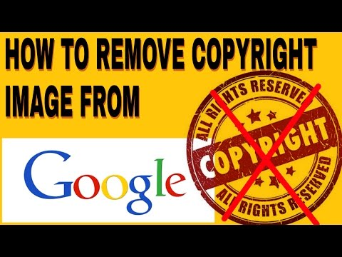 HOW TO REMOVE COPYRIGHT IMAGE FROM GOOGLE || A 2 Z TV || MUST WATCH ||
