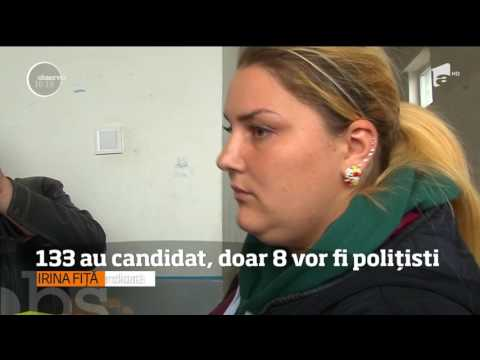 Concurenţă la Poliţia Locală din Piteşti! 133 de persoane au candidat pentru opt posturi