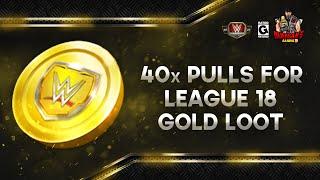 40x Gold League 18 Pulls / WWE Champions 🍀 screenshot 1