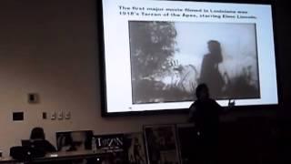 Louisiana Film History Presentation by Ed Poole - Hollywood on the Bayou