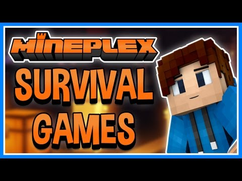 Minecraft Mineplex Survival Games with Facecam | BLUSHY LENS FLARES | #1
