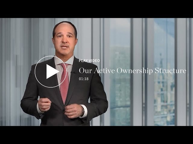 Our Active Ownership Structure