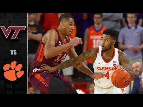 Virginia Tech vs. Clemson Highlights (2018-19)