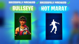 BULLSEYE SKIN & FREE HOT MARAT EMOTE - Fortnite Daily Reset NEW Items in Item Shop