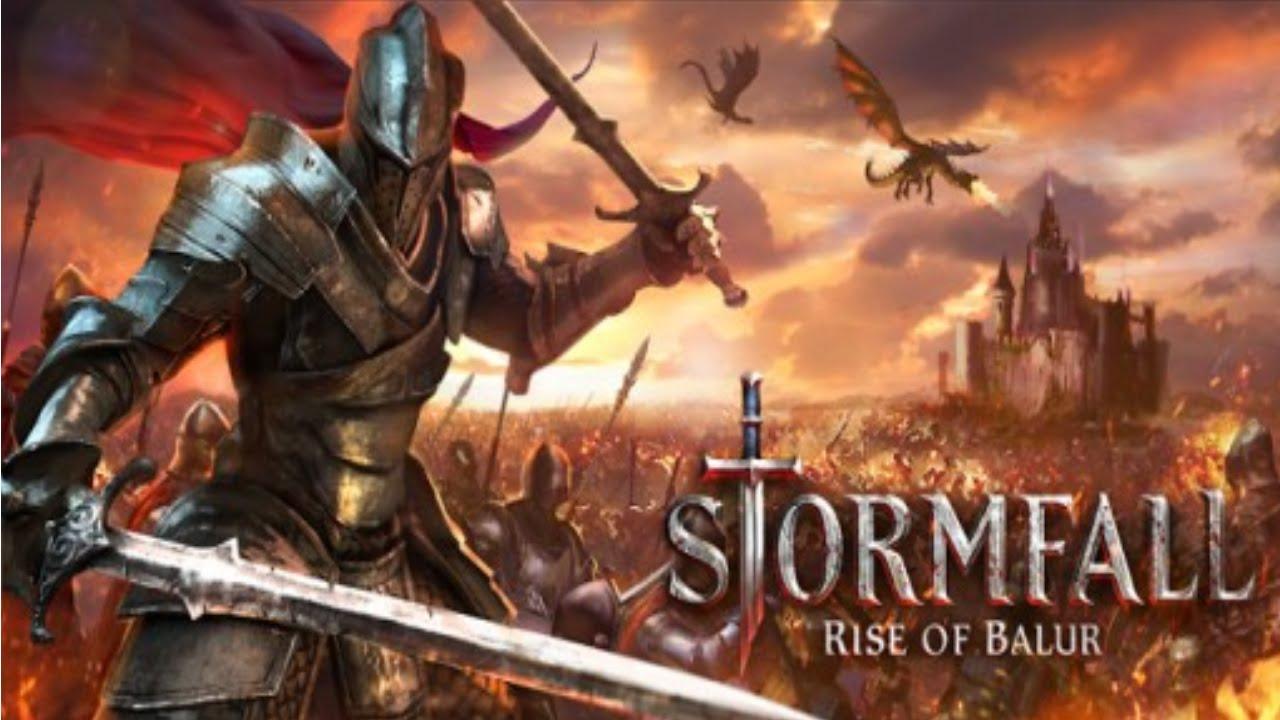 как быстро подняться в игре stormfall