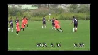 苫小牧中央FCファンタジスタ2012トヨタカップ準々決勝対SSjr前半 1