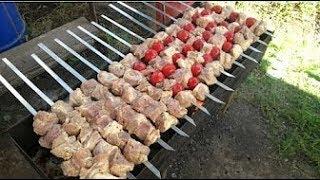 Секреты Приготовления Шашлыка. Как правильно жарить мясо на углях?