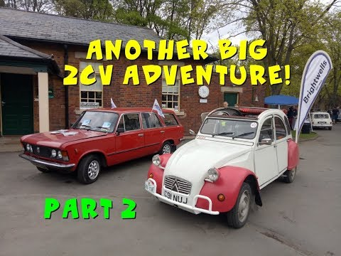 2CV 500-mile roadtrip Part 2: Drive It Day, an FSO and Lamborghini LM and more!