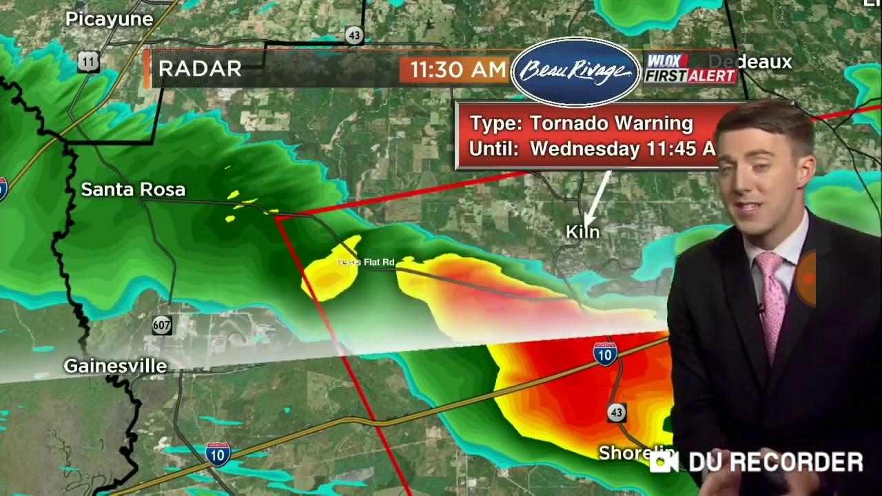 Wlox weather a tornado warning for Hancock county