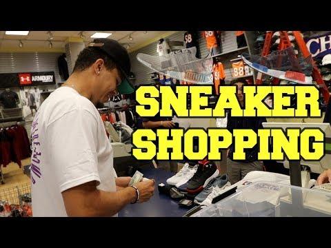 A Sneaker Life Goes Sneaker Shopping