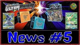 Pokemon TCG: Ultra Prism News Update #5: Full Set Revealed & Packaging!