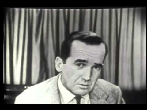 Edward R. Murrow - See It Now - McCarthy  (03-09-1954)