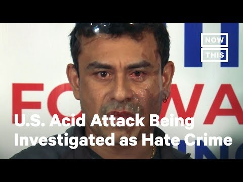 Milwaukee Acid Attack Being Investigated as a Hate Crime   NowThis