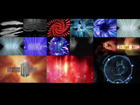 All Doctor Who Intros at Once - Redux Version