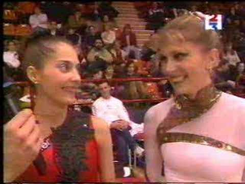 Eva Serrano & Elena Vitrychenko Interview 1999 Defis d'Or