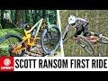 New Scott Ransom - First Ride | Training For Enduro Ep.4