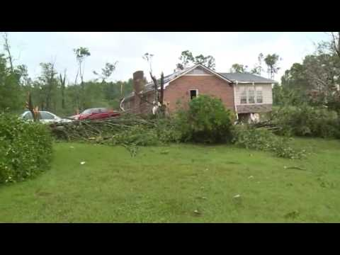 Tornado Damage In Davie County