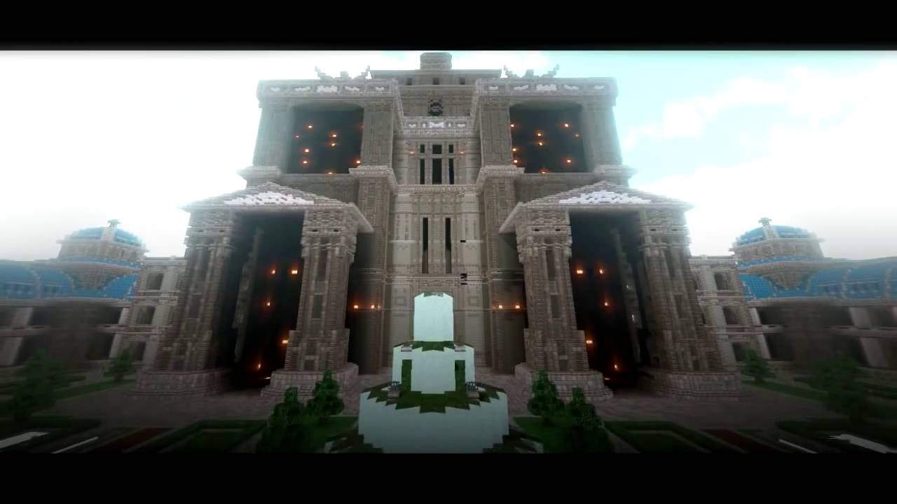 Blockingham Palace Cinematic Best Minecraft Builds Youtube