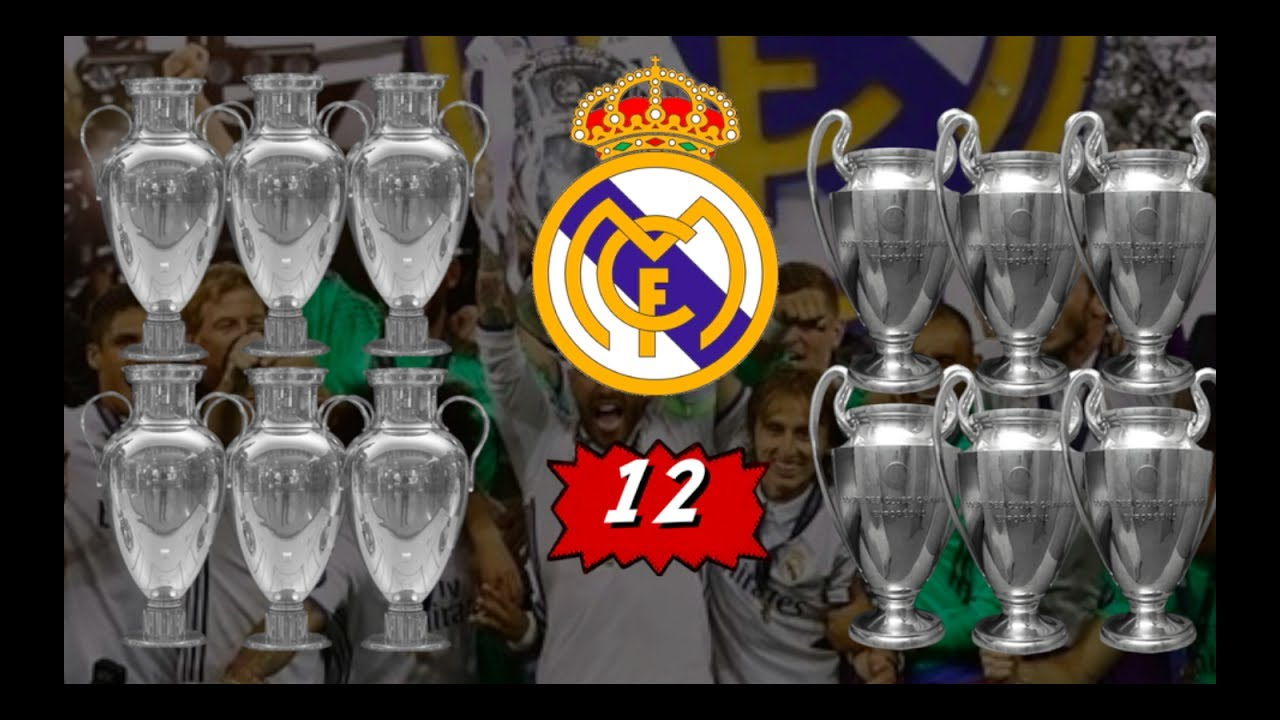 Real Madrid Campeón de la Duodecima / Las 12 Champions del Madrid - YouTube