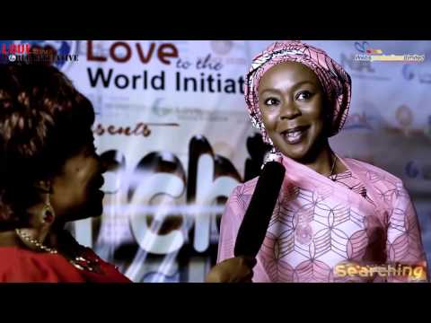 """The wife of the President on the red carpet of """"Searching""""..the story of a girl child"""