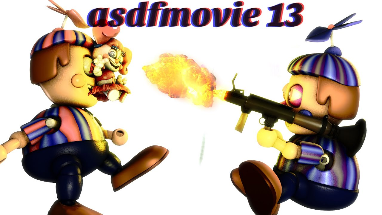 ASDF MOVIE 13 FNAF BALDI EDITION