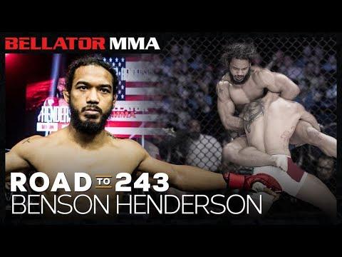 Road to 243 Benson Henderson | Bellator MMA