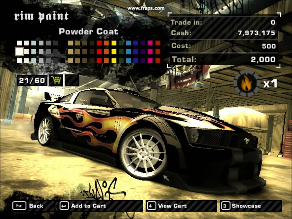 Nfs Mw How To Do Razor S Car Youtube