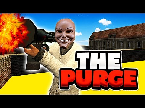 IT'S PURGING TIME! (Garry's Mod The Purge RP)