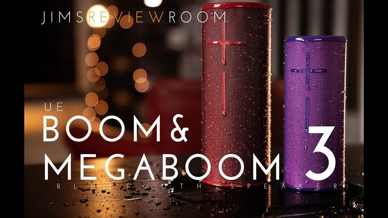 UE Boom 3 and Megaboom 3 - REVIEW