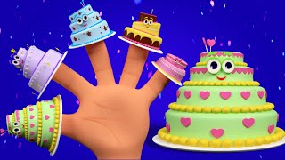Cake Finger Family | Birthday Song For Kids | Nursery Rhymes For Childrens And Baby
