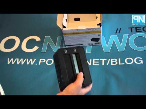 StarTech USB 3.0 SATA Hard Drive Duplicator, Dock And Eraser - Unboxing - Poc Network // Tech Blog