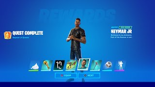 ... in this video i show you how to get new neymar jr skin fortnite battle royale. shows sk...