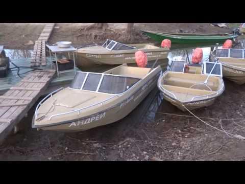 Видео лодка Волжанка ( Стеклопластик )
