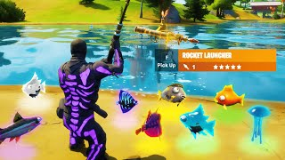 winning using ONLY *NEW* FISHING LOOT