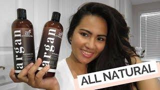 Art Naturals Argan Oil Shampoo and Conditioner Review