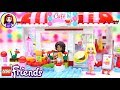 Lego Friends Heartlake City Cafe Build Review Silly Play Kids Toys