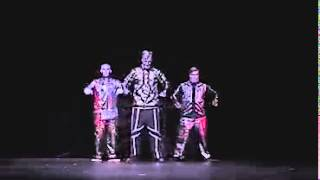 POPPIN JOHN   ROBOTBOYS   BEST DANCE ROUTINE EVER   PoppinJohnSBK   Vube com
