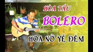 HOA NỞ VỀ ĐÊM / hoà tấu guitar Bolero Lâm Thông / những bản nhạc không lời hay nhất / tình cảm sâu l