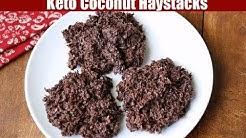 Keto Coconut Haystacks
