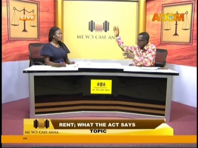 Rent, what the act says - Me Wo Case Anaa on Adom TV (19-10-18)